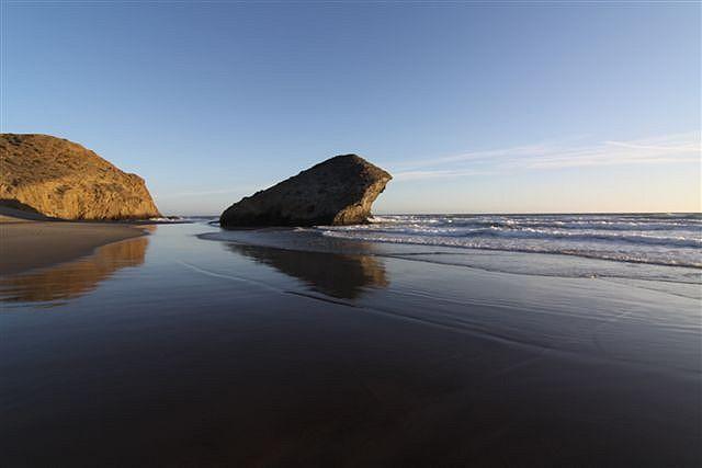 Cabo de Gata, Playa de Monsul,
